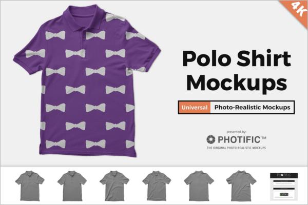 Best Polo t-shirt Mockup