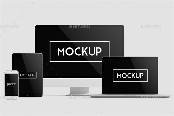 Best ResponsiveDevice Mockup Template