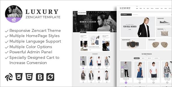 Best Responsive Zen Cart Theme