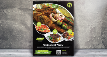 Best Restaurant Flyer Designs