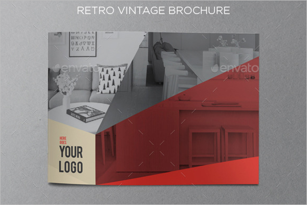 Best Retro Brochure Template