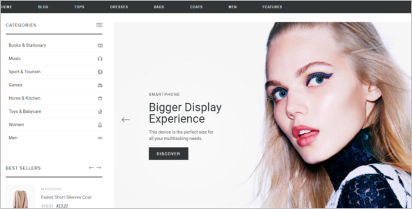 Best Selling Prestashop Theme