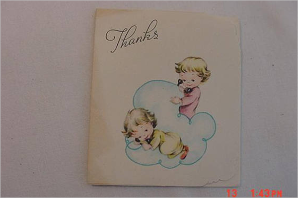 Best Thank You Card Template