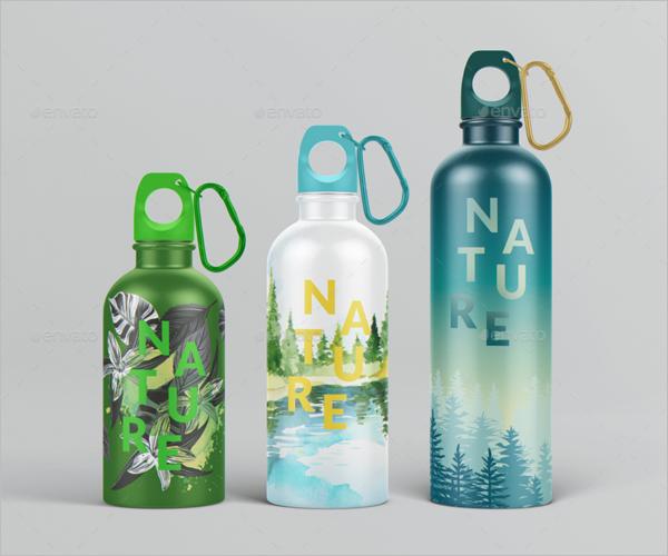 Best Water Bottle Mockup