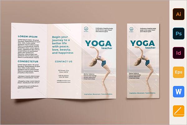 Best Yoga Brochure Templates