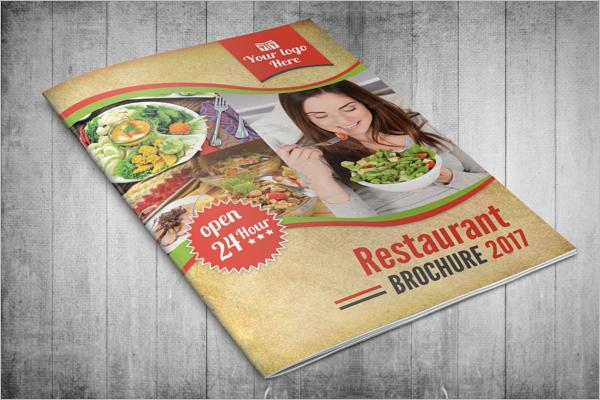 Bifold Retro Brochure Template