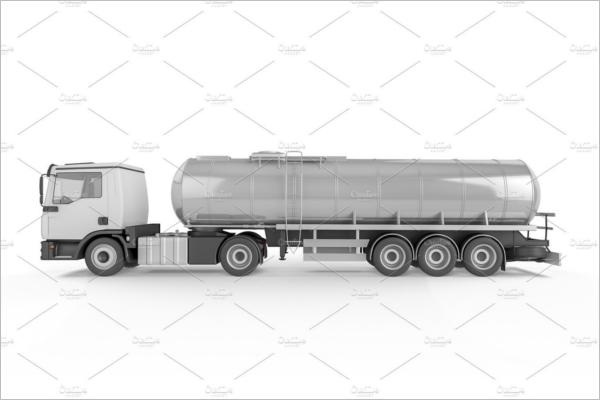 Big Tanker Mockup Design