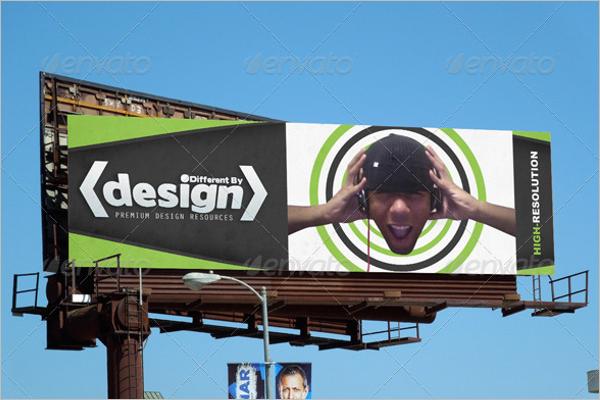 Billboard Ad Mockup Design