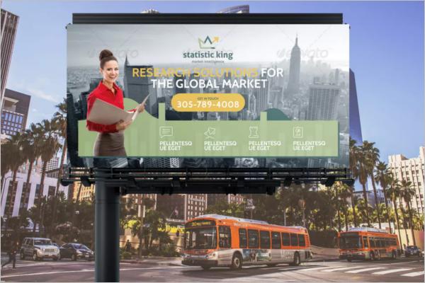 Billboard Banner Template Design