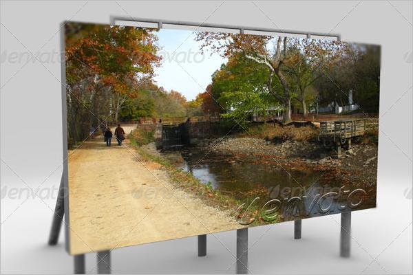 Billboard Display Mockup Design