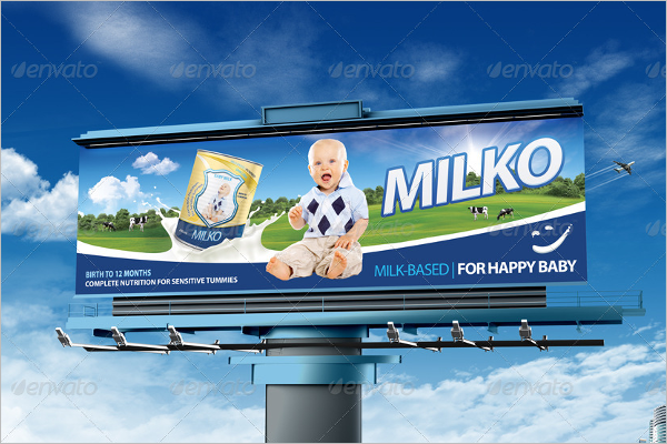 Billboard Mockup Print Design