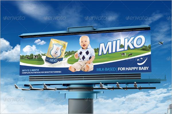 Billboard Mockup Print Design