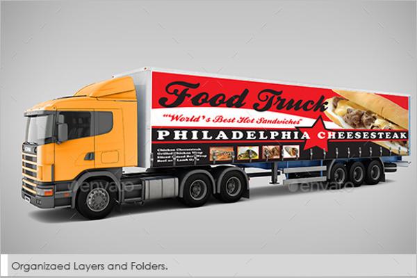 Billboard & Truck Mockup Design