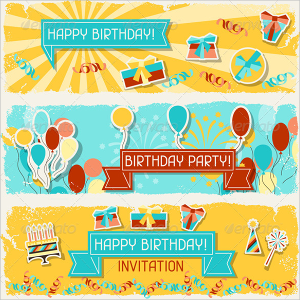 Birthday Banner Design
