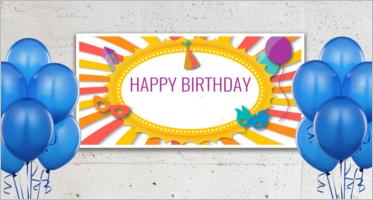 Birthday Banner Templates