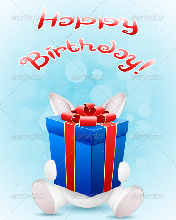 Birthday Gift Card For Sister