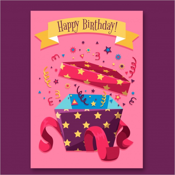 Birthday Gift Card Free Download
