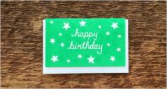 Birthday Gift Card Templates