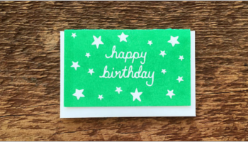 Birthday Gift Card Templates