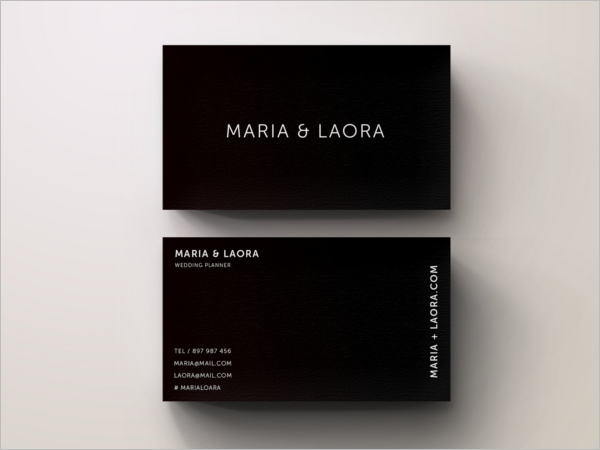 Black & White Business Card Ideas