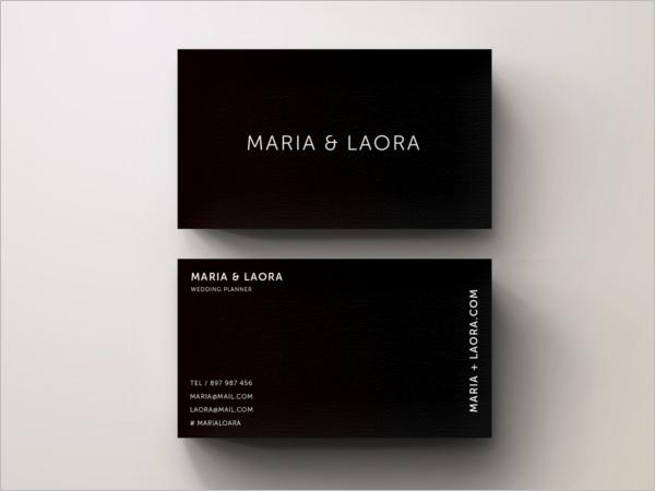 Black & White Business Card Ideas