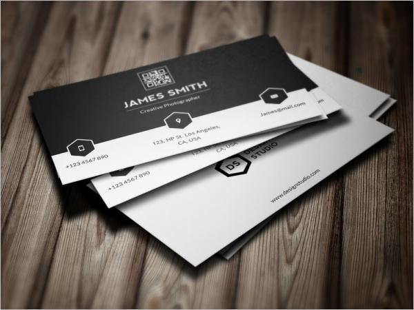 Black & White Business Visiting Card