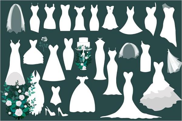 Blank Dress Design Template