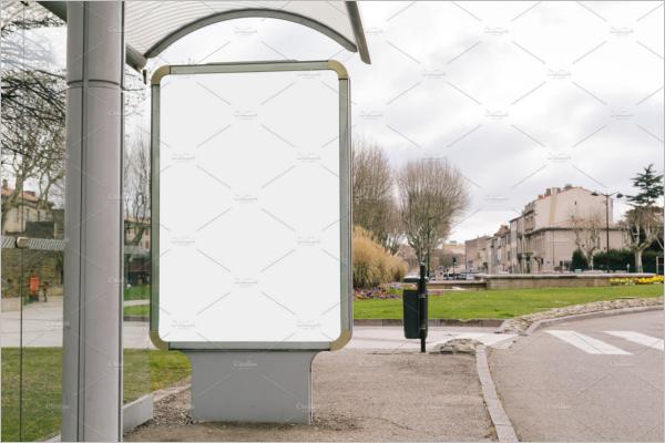 Blank Outdoor Mockup Template
