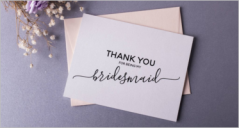 Blank Thank You Card Templates