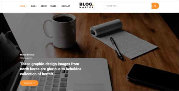 Blog HTML Template