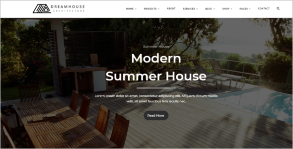 Blog Page Design Template