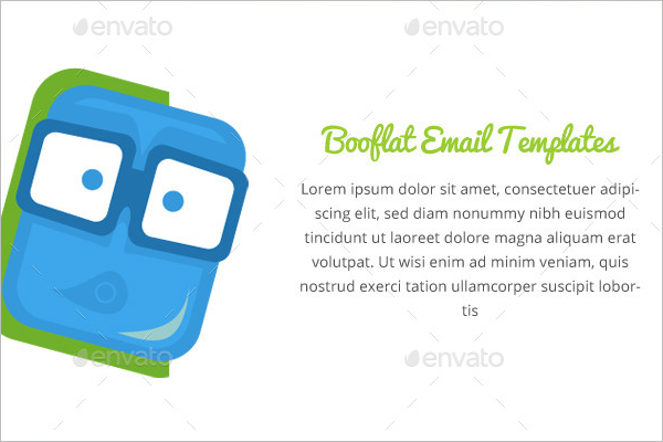 Booflat Email Template