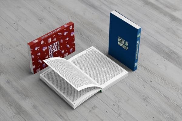 Book Cover Mockup Elegant Design