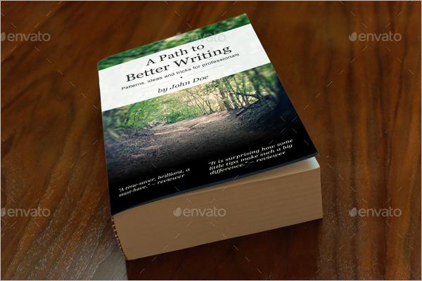 Book Cover Mockup Photoshop Design