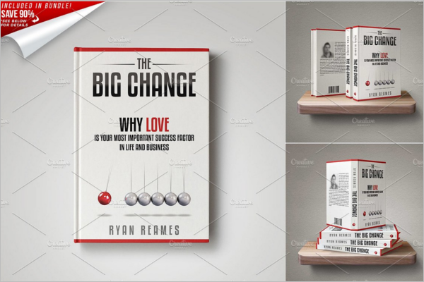 Book Cover Page Design Template