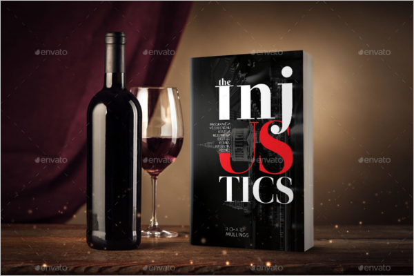 Book Cover Photoshop Template