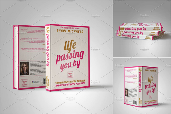 Book Design Template PSD Download