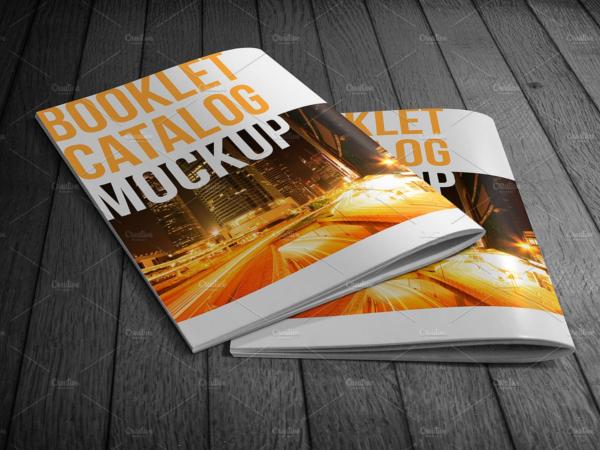 Booklet Catalog Mockup Design