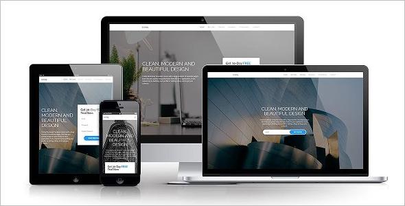 Bootstrap 3 & 4 Design Template