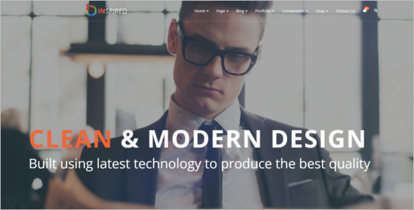 Bootstrap Theme For Website