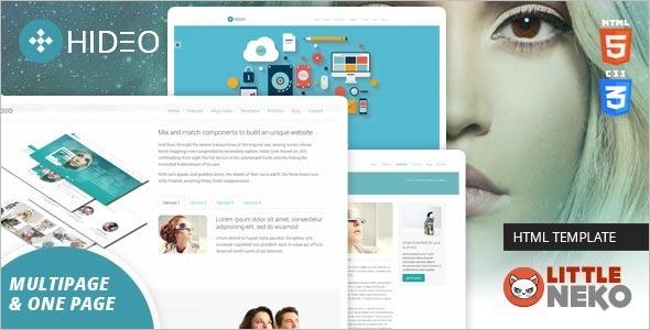 Bootstrap Website Design Template