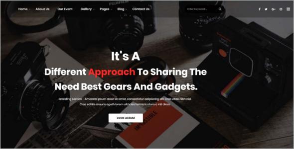 Bootstrap WordPress Design Template
