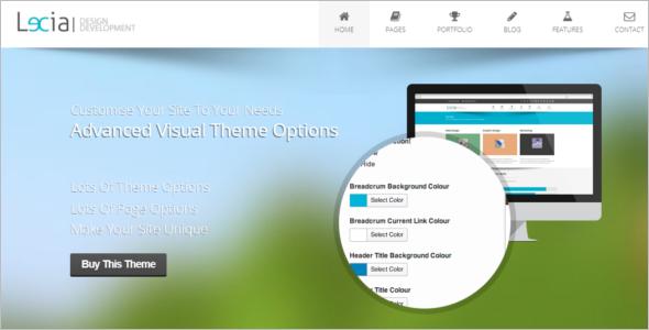 Bootstrap4 CSS Theme