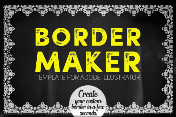 Border Design Template