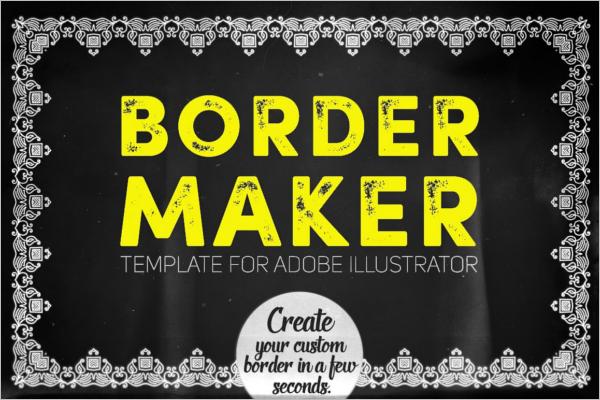 Border Design Template