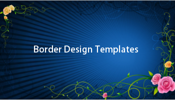 Border Design Templates