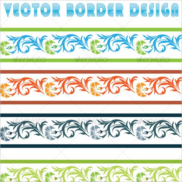 Border Design Vector