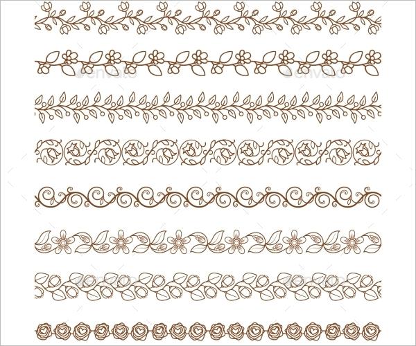 Border Pattern Design