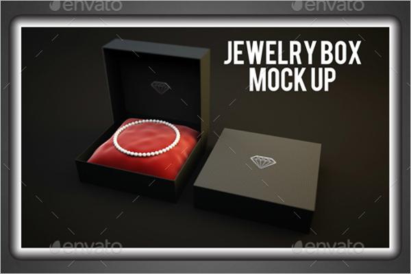 Branded Jewelry Mockup
