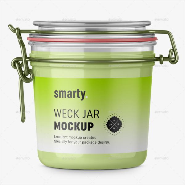 Branding Jar Mockups